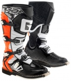 Buty motocyklowe GAERNE G-REACT GOODYEAR pomarańczowe
