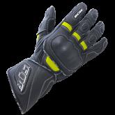 Rękawice motocyklowe BUSE Speed czarno-neonowe