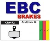 Klocki rowerowe EBC AVID ELIXIR CFA472 (1 kpl.)