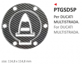 Naklejka na wlew paliwa PRINT Multistrada