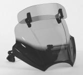 Uniwersalna szyba do motocykli bez owiewek MRA, forma VTNB, czarna