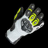 Rękawice motocyklowe BUSE Airway czarno-neonowe 08