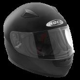 Kask motocyklowy dziecięcy ROCC 380 Jr. czarny mat