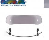 Deflektor motocyklowy MRA UNIVERSAL VTA-TYP 5    33/24 CM, forma VTA, przyciemniana