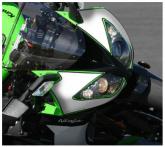 PRINT naklejki na motocykl Kawasaki ZX10R 2008/2010