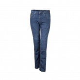 Spodnie jeansowe LOOKWELL DENIM 501 damskie standardowe jasne