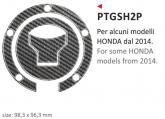 Naklejka na wlew paliwa PRINT Honda 2014