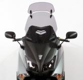 Szyba motocyklowa MRA YAMAHA T-MAX 530 (XP), SJ09, 2012-2015, forma XCTM, przyciemniana