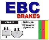 Klocki rowerowe EBC (organiczne wyczynowe) Grimeca 7 CFA311R