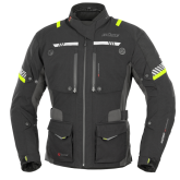 Kurtka motocyklowa BUSE Toursport czarno-neonowa