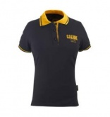 Koszulka polo GAERNE G-POLO 1962 damska czarno-żółta XS