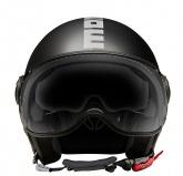 Kask Motocyklowy MOMO FGTR EVO (JOKER Black / Dark Grey/ Silver) rozm. 2XS