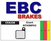 Klocki rowerowe EBC (organiczne wyczynowe) Giant MPH 2001/2005 / MPH2 & MPH3 CFA338R