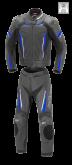 Kombinezon motocyklowy BUSE Imola czarno-niebieski 58