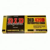 Łańcuch napędowy DID 420D ilość ogniw 120 (bezringowy)