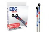 Przewody hamulcowe w stalowym oplocie EBC BLM4053-7FR KAWASAKI VERSYS 650 ABS [11-13]