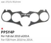 PRINT Naklejka na półkę kierownicy Yamaha FZ8 2010/2014
