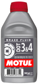 Płyn hamulcowy MOTUL DOT 3 & 4 - 0,5 L