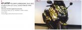 PRINT zestaw naklejek motocyklowych do Yamaha TMAX from 2012 to 2014 mimetic żółte fluo