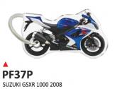 PRINT Dwustronny wypukły brelok na klucze Suzuki GSXR 1000 2008