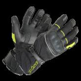 Rękawice motocyklowe BUSE Toursport czarno-neonowe
