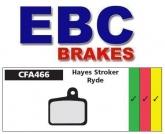 Klocki rowerowe EBC HAYES STROKER RYDE CFA466R (1 kpl.)