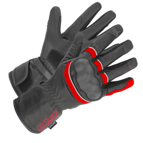 Rękawice motocyklowe BUSE ST Match czarno-czerwone