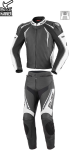 Kombinezon motocyklowy BUSE Silverstone Pro czarno-biały 52