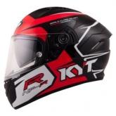 Kask motocyklowy KYT NF-R TRACK czerwony