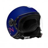Kask Motocyklowy MOMO FGTR BABY (Blue Matt / Multicolor) rozm. XS