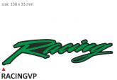 PRINT zestaw 10 naklejek Racing zielone