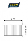 Filtr Oleju ISON401