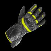 Rękawice motocyklowe BUSE Misano czarno-neonowe
