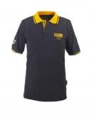 Koszulka polo GAERNE G-POLO 1962 męska czarno-żółta 2XL
