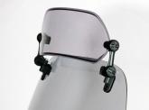 MRA Deflektor Sport - uniwersalny, regulowany z zestawem do montażu, forma XCSA, bezbarwna