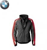 Kurtka BMW Streetguard antracytowo/czerwona