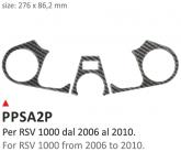 Naklejka na półkę kierownicy PRINT Aprilia RSV 1000 2006-2010